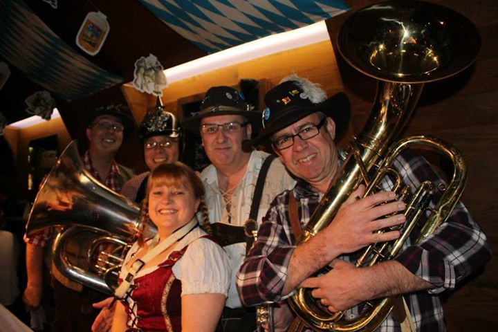 german themed oompha band