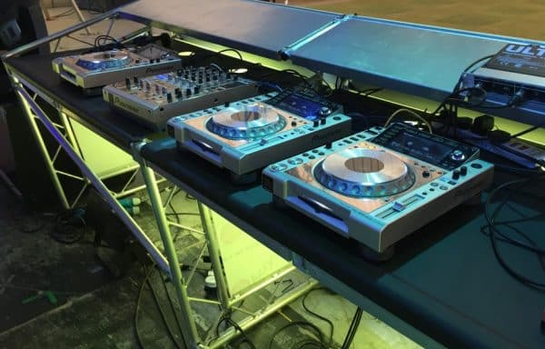 skyline dj booth