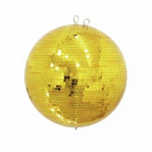 gold mirror ball 400