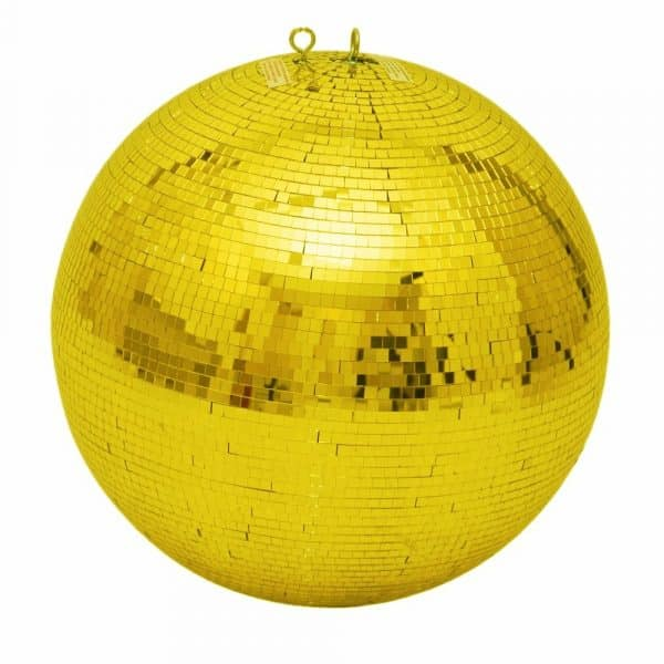 gold mirror ball 500