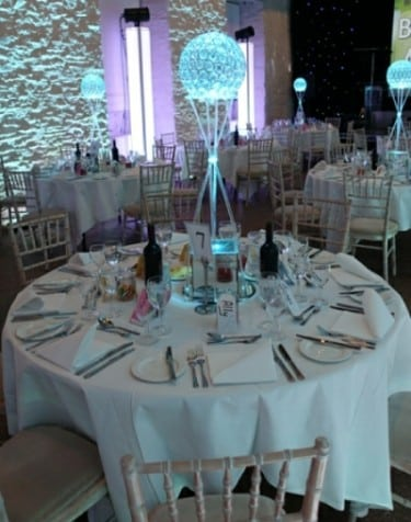 wedding decoration and furniture hire