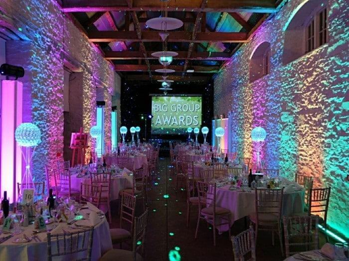 LED Wash uplighting