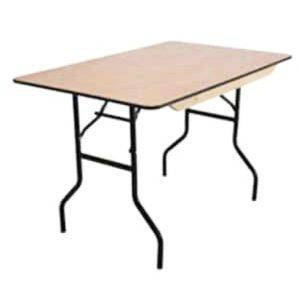 rectangular banquet table hire
