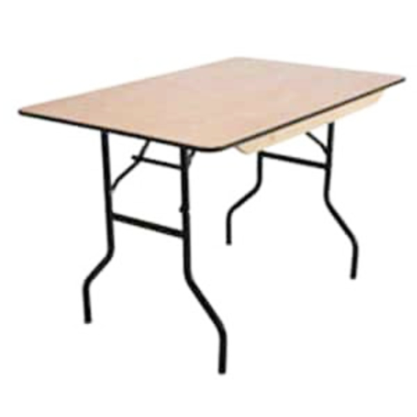 rectangular banquet table hire