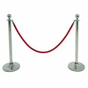 silver post barrier hire